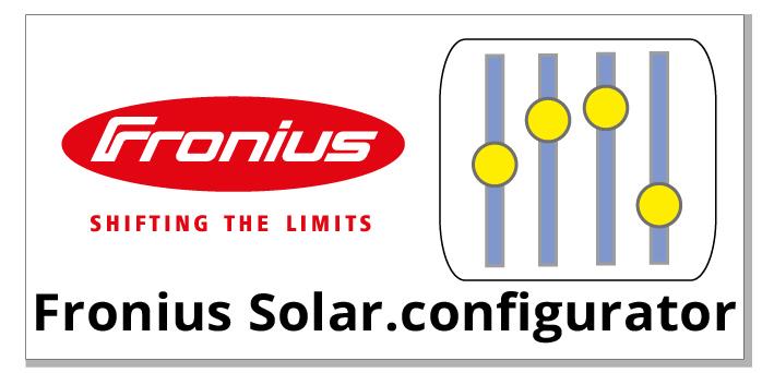 Fronius Configurationstool